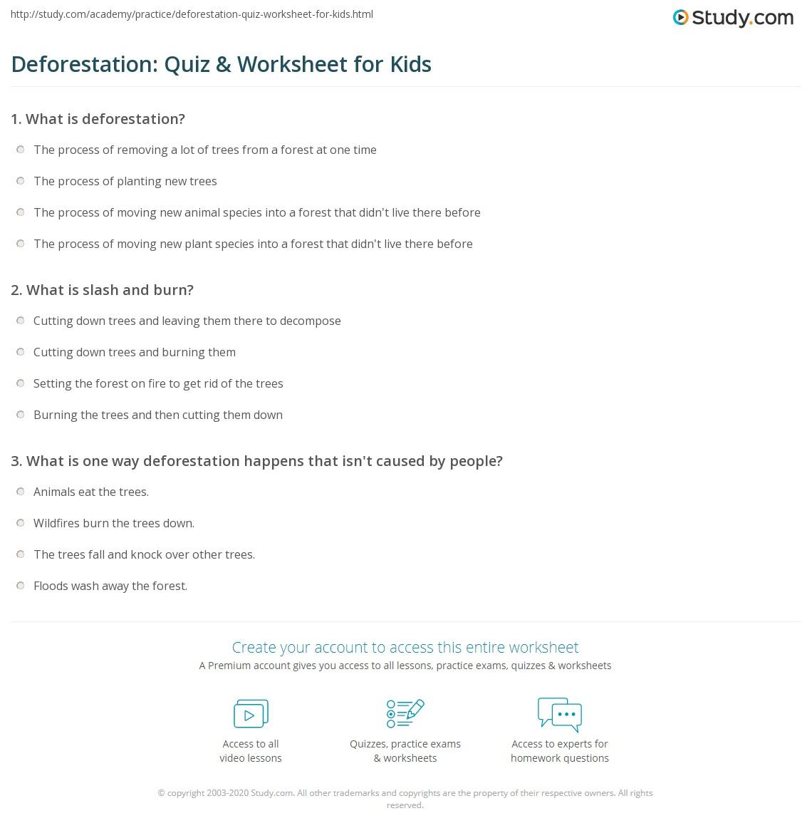 Free Worksheet Climograph Worksheet deforestation worksheet rringband quiz for kids study com