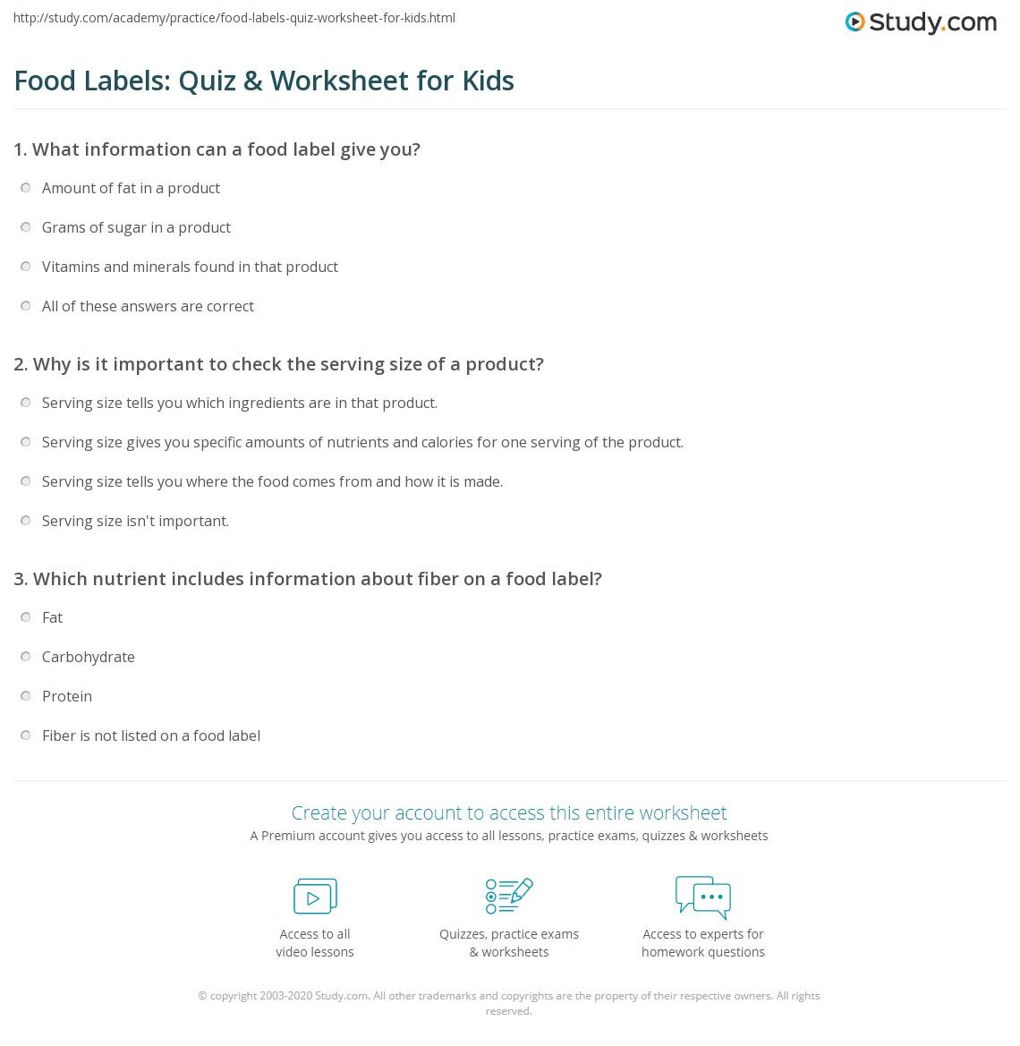 33 Nutrition Facts Label Worksheet Labels Database 2020 [ 1169 x 1140 Pixel ]