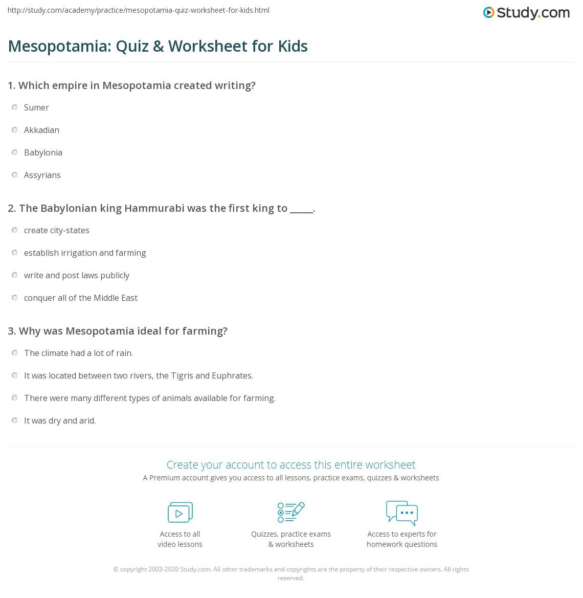 worksheet Mesopotamia Map Worksheet mesopotamia map worksheet worksheets for school pigmu worksheet