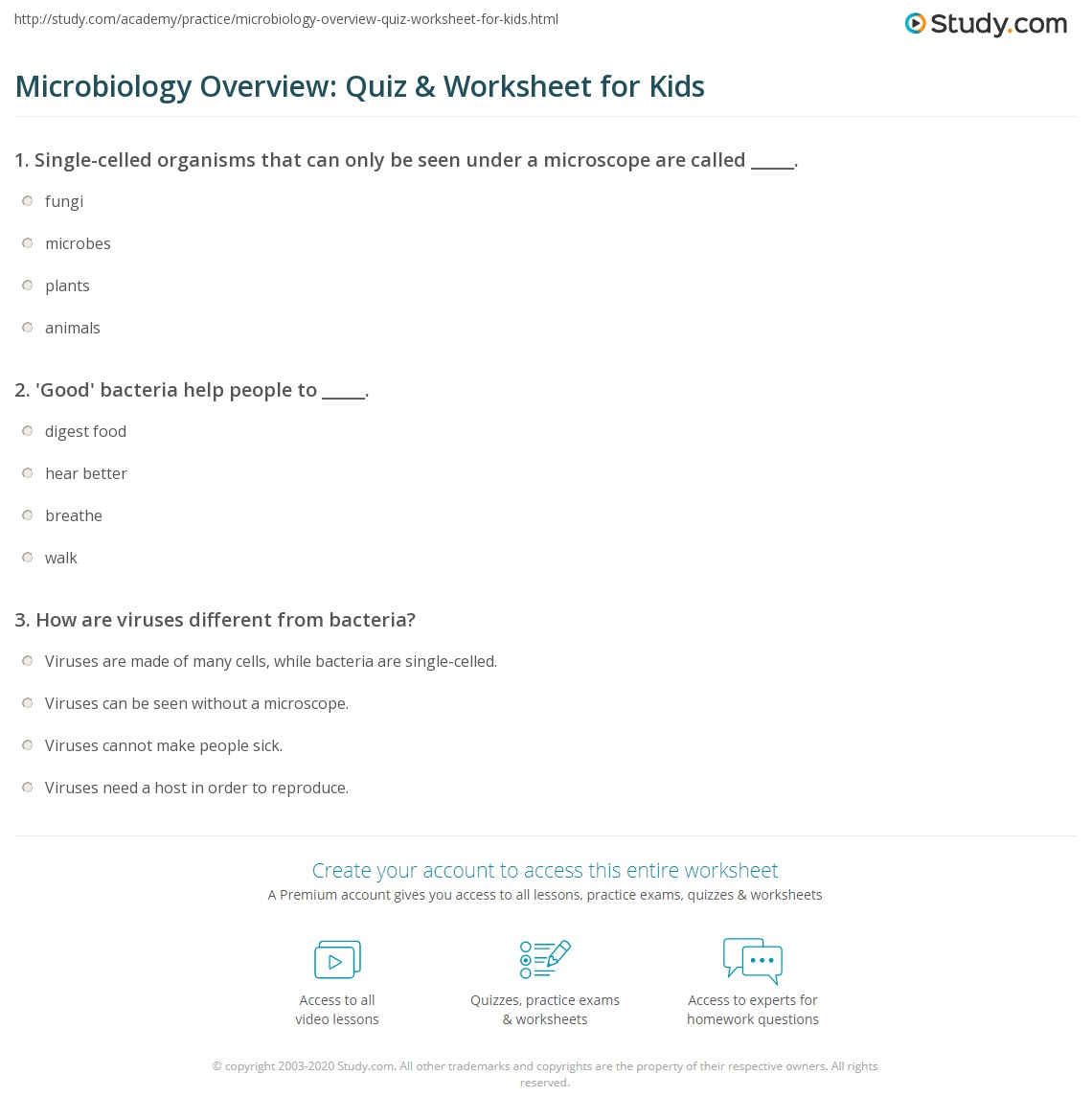 Food Microbiology question and Answer