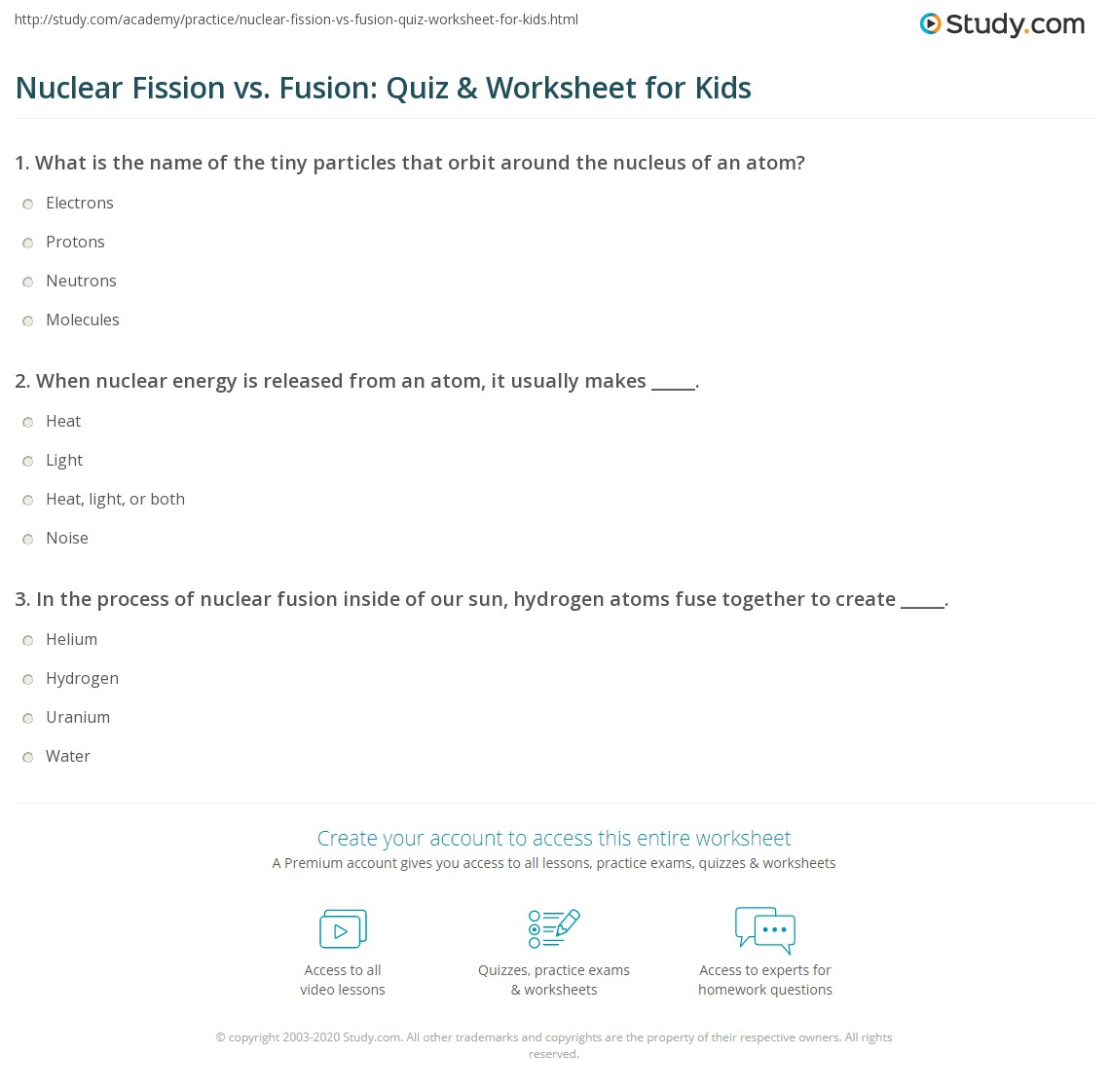 nuclear fission and fusion worksheet resultinfos. Black Bedroom Furniture Sets. Home Design Ideas
