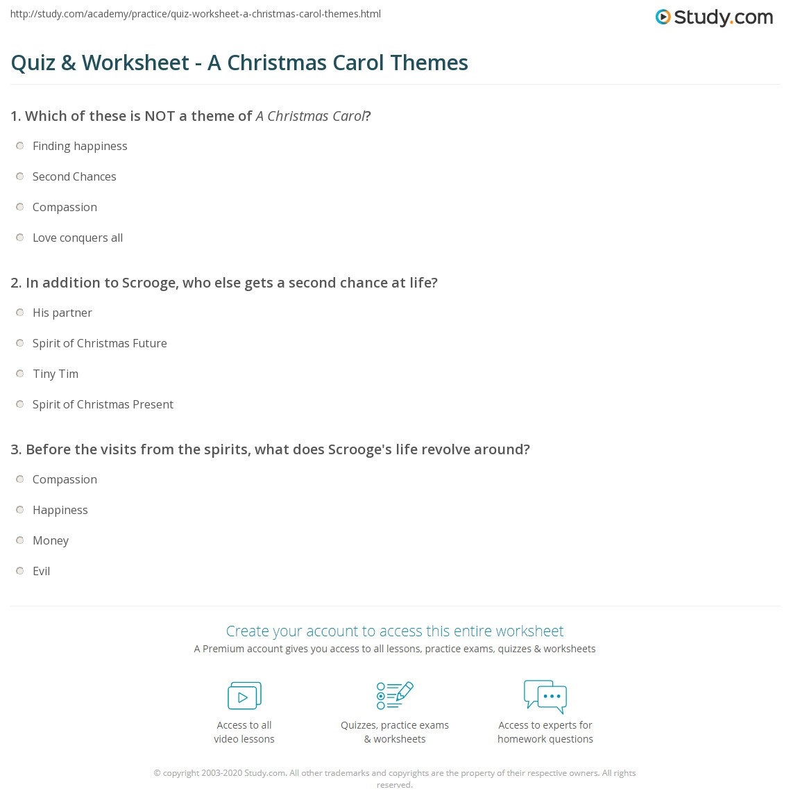 print a christmas carol themes worksheet - What Is The Theme Of A Christmas Carol