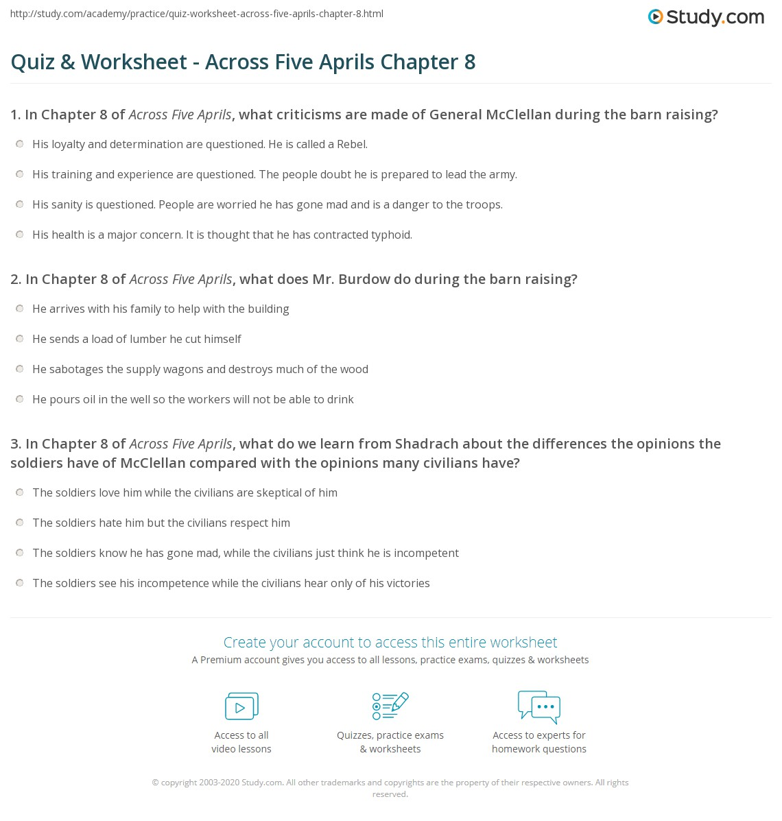 quiz worksheet across five s chapter com print across five s chapter 8 summary worksheet