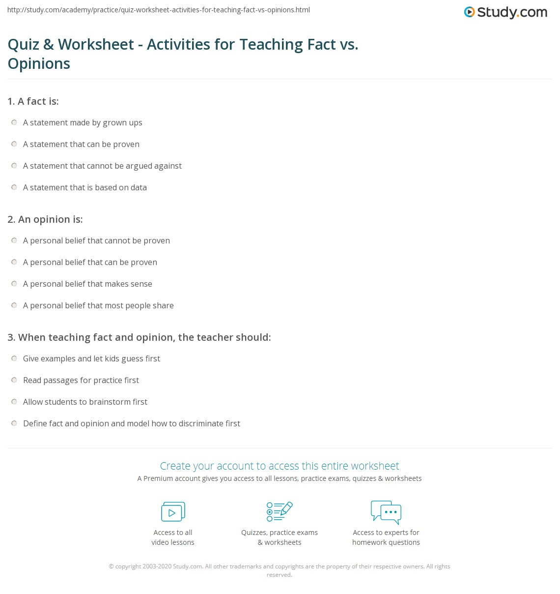 worksheet Fact And Opinion Worksheets 4th Grade fact vs opinion worksheets abitlikethis facts opinions examples games amp activities