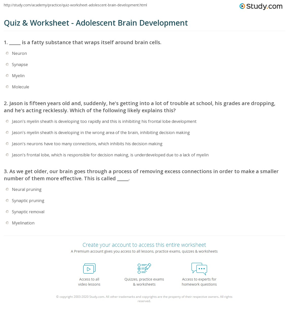 Teen tests and quizs
