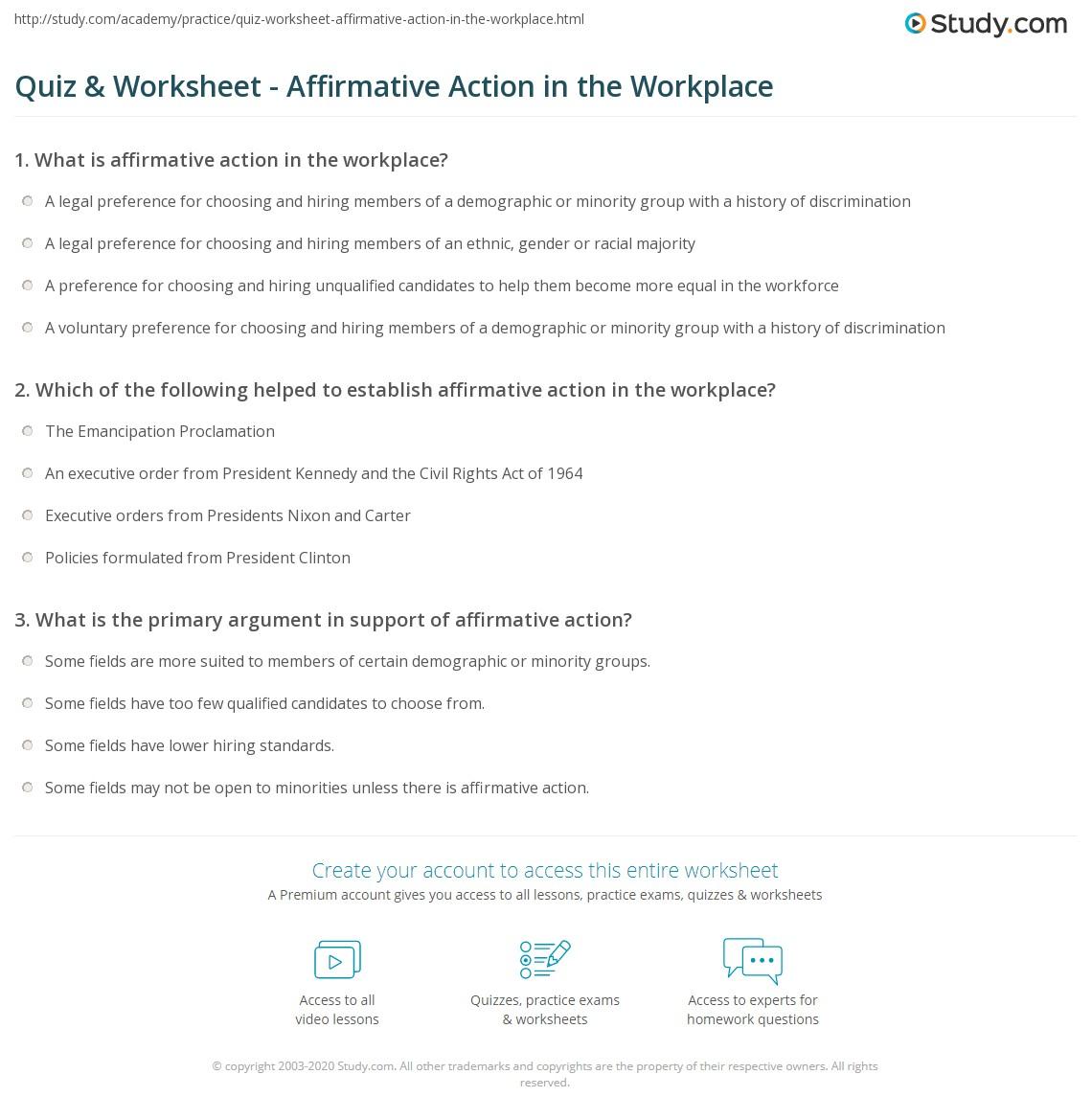 negatives of affirmative action