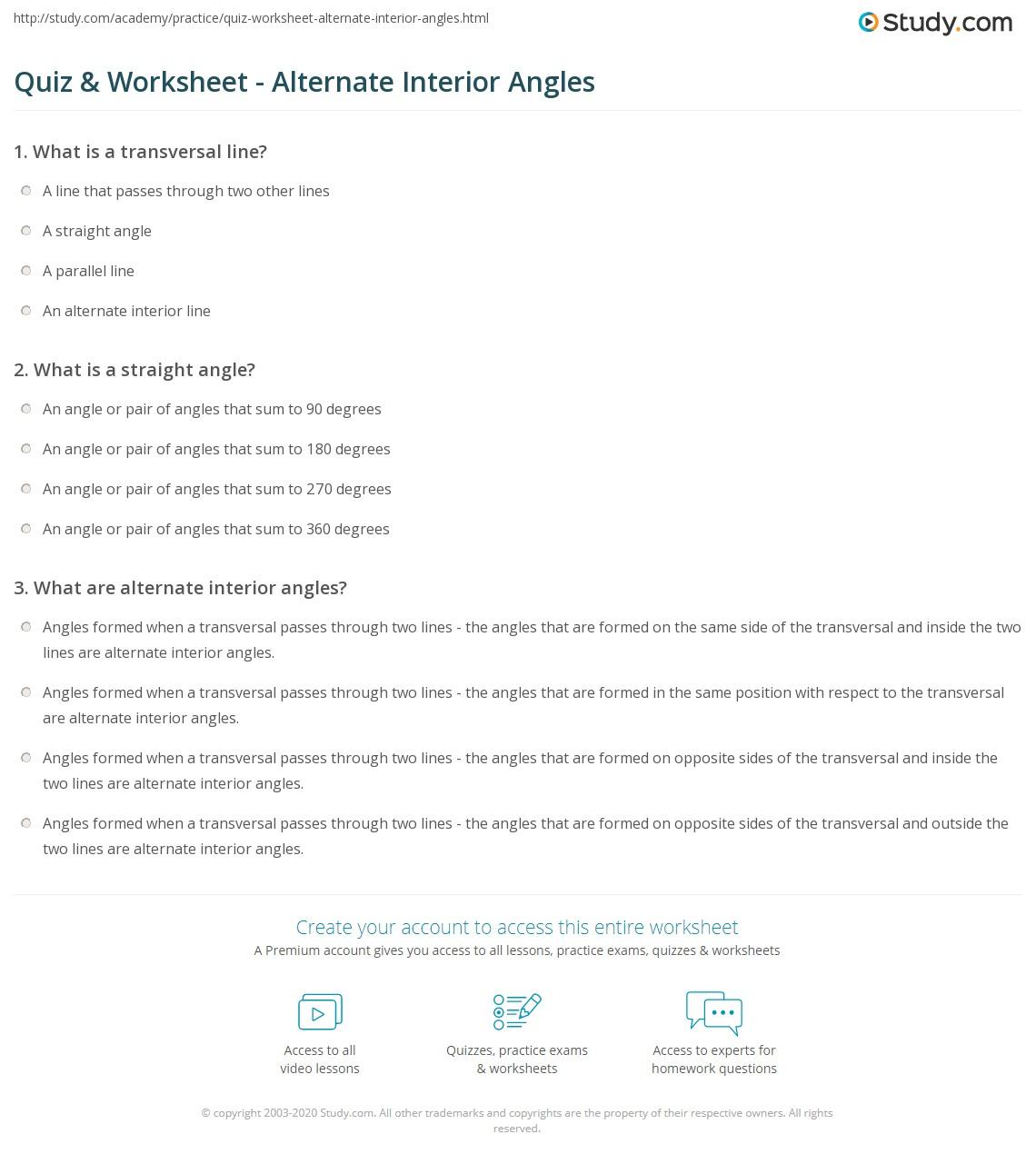 worksheet: Octagon Worksheets Figure Source A Alternate Interior ...