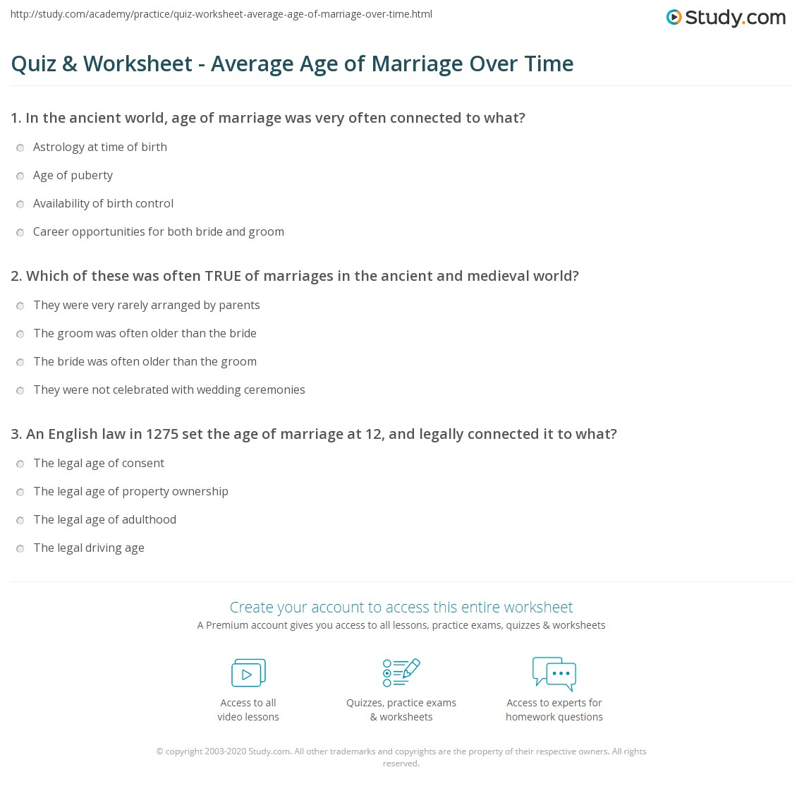 marriage age astrology