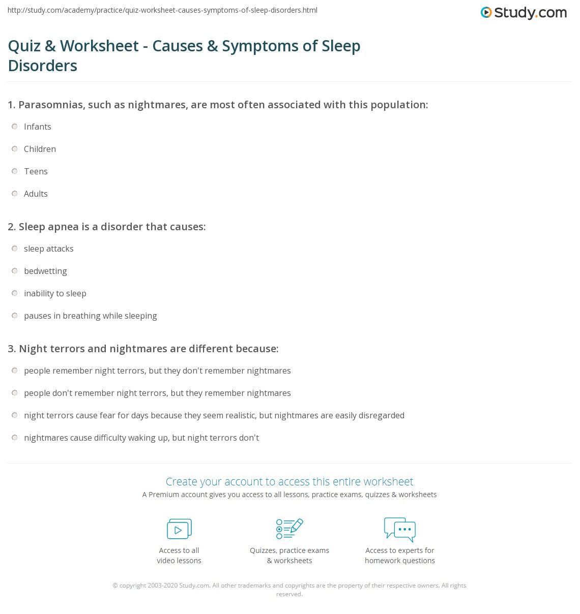 Sleep apnea study in infants