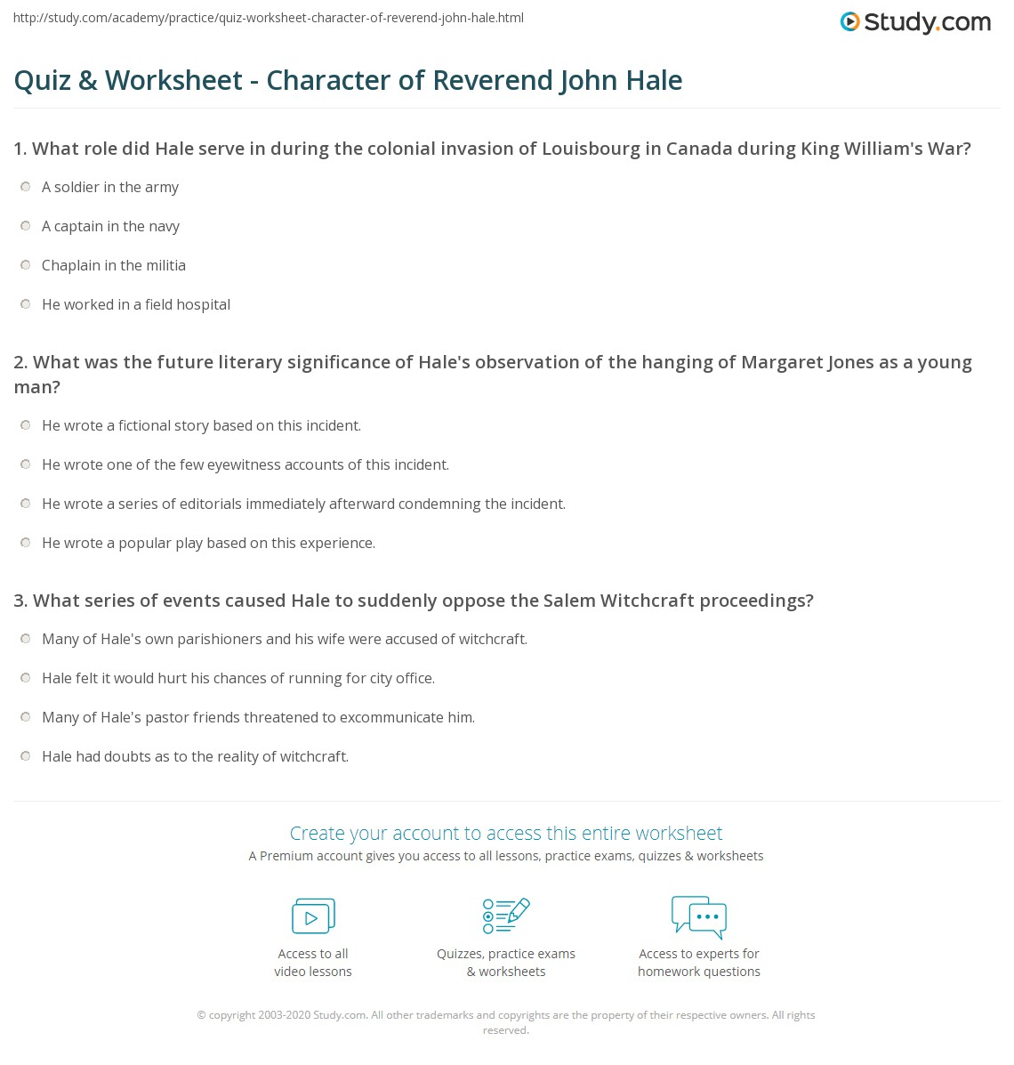 reverend john hale salem witch trials