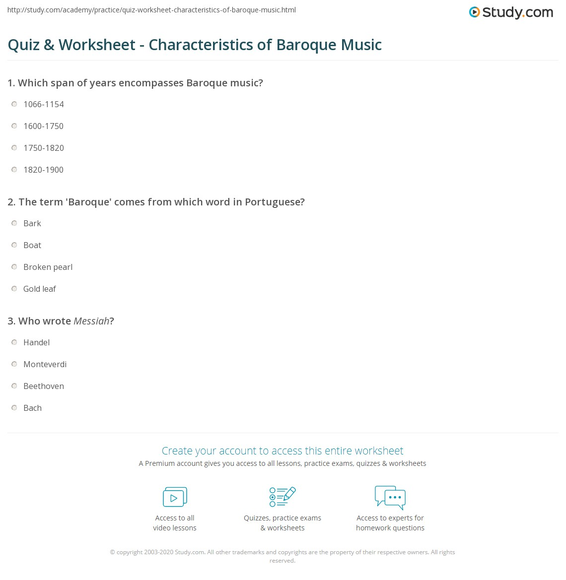 Baroque Music - Classical Music from the Baroque Period ...