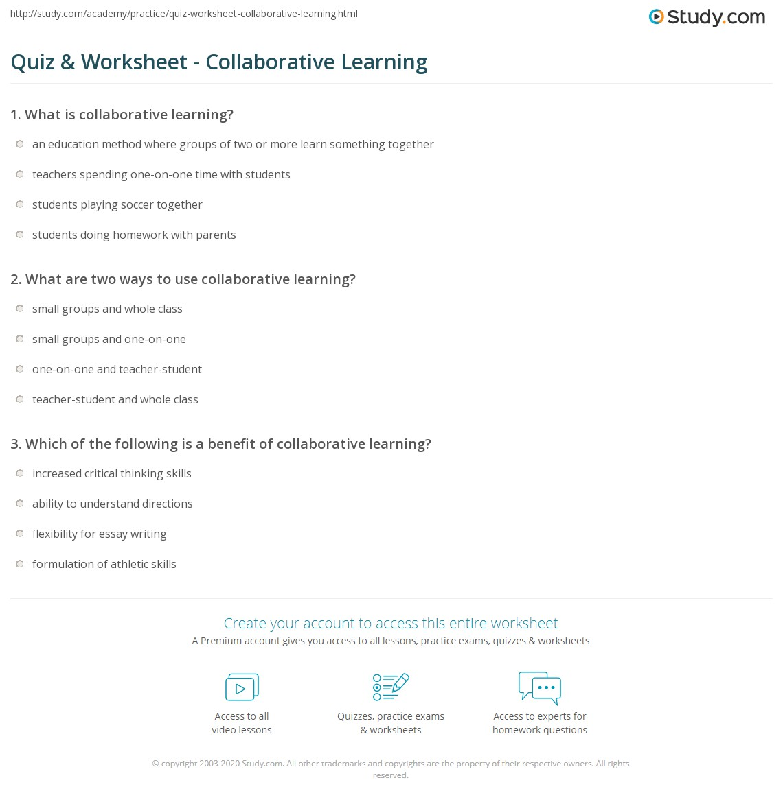 collaboration quiz We're great when we collaborate discover which type you are, and how you can be great when you collaborate who can you be take quiz share quiz with your colleagues twitter linkedin facebook question 1 of 6 the trailblazer is an innovator but may not always be a natural collaborator.