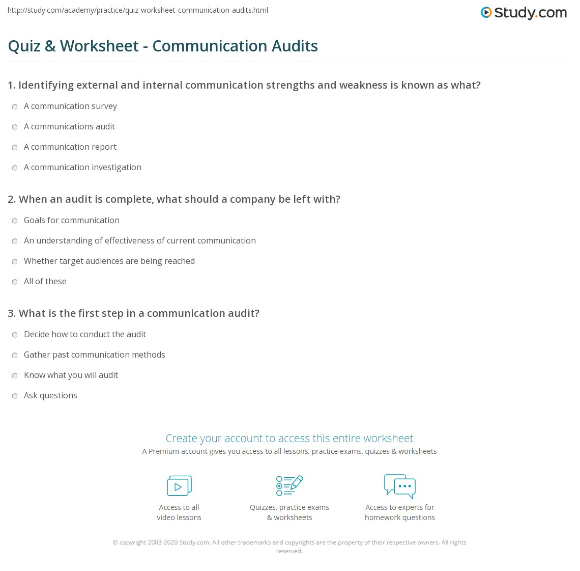 communication strengths examples
