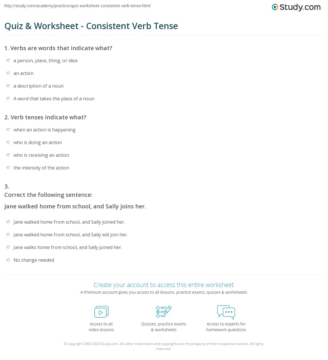 Consistent Verb Tense Worksheet jannatulduniya – Verb Tenses Worksheet