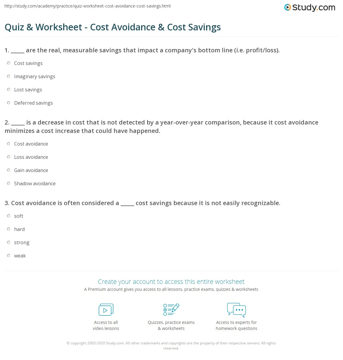 profit loss worksheet