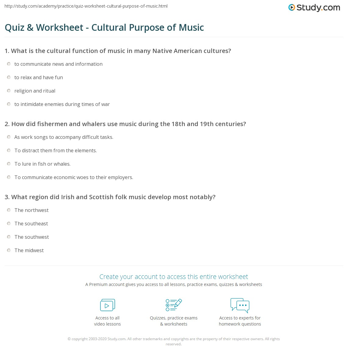 What is the role of music in human life How does it affect thoughts