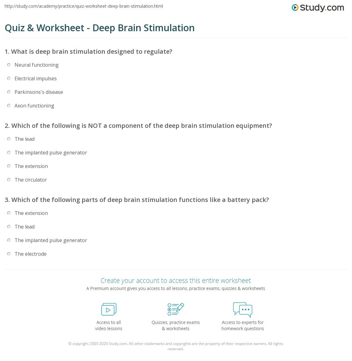 What is stimulation