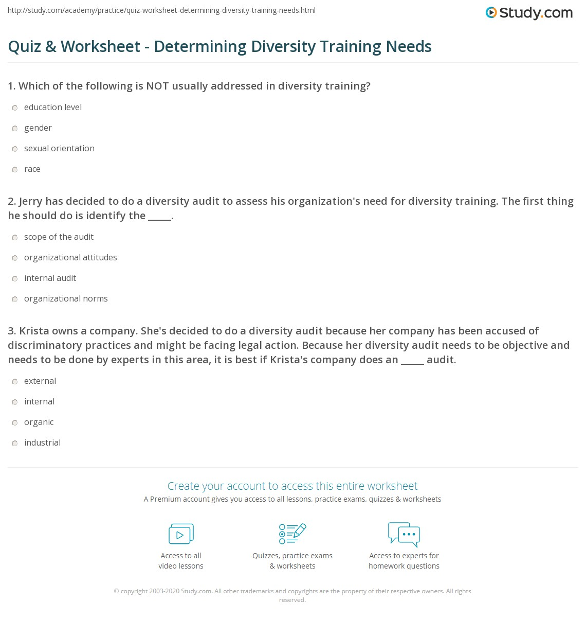diversity organizations worksheet Appendix h search the internet for information related to the following: women's rights organizations equality organizations gay, lesbian, bisexual, and.