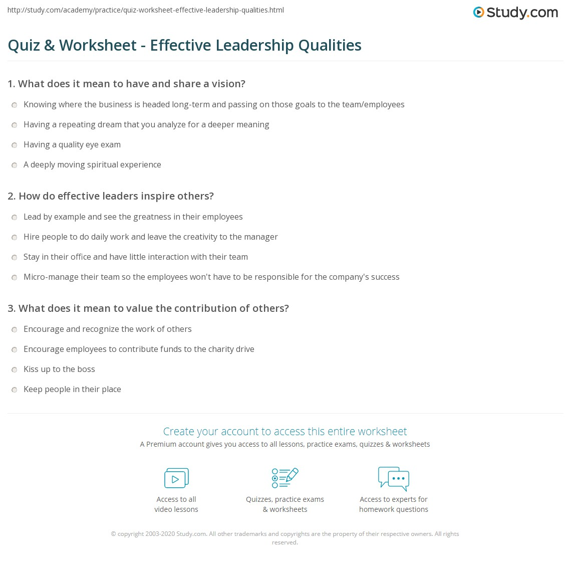 analysis on leadership trait questionnaire Leadership trait questionnaire and skills inventory assessment analysis angelina spaulding ogl 300: theory practice of leadership college of letters and sciences.
