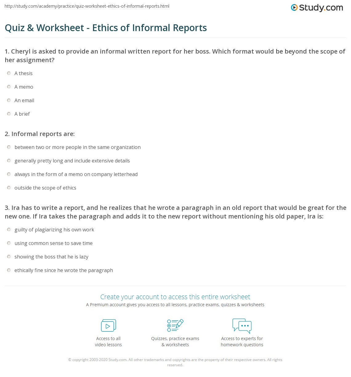 Informal Report Format Antaexpocoaching