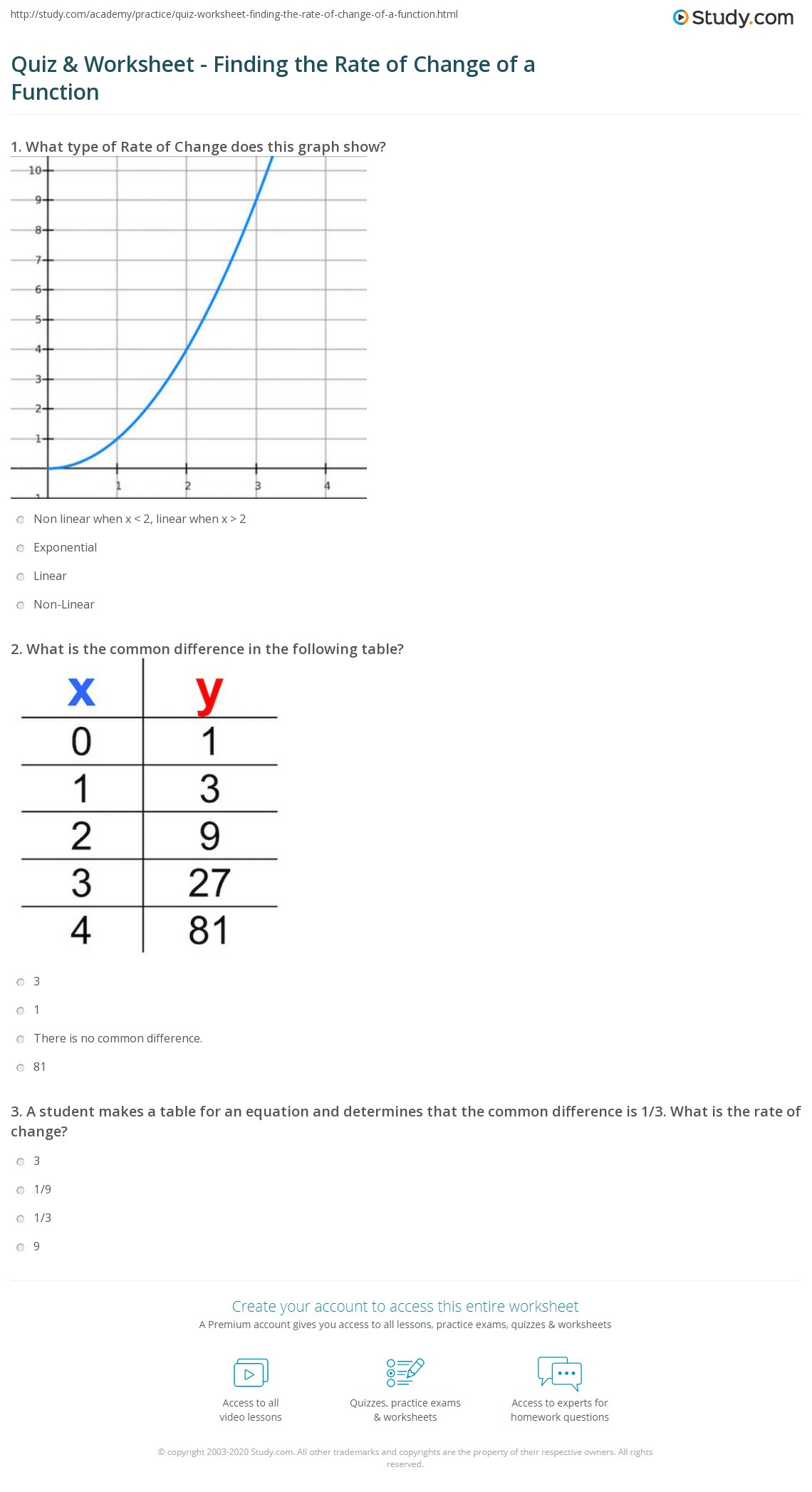 linear equations and their graphs rate of change worksheet tessshebaylo. Black Bedroom Furniture Sets. Home Design Ideas