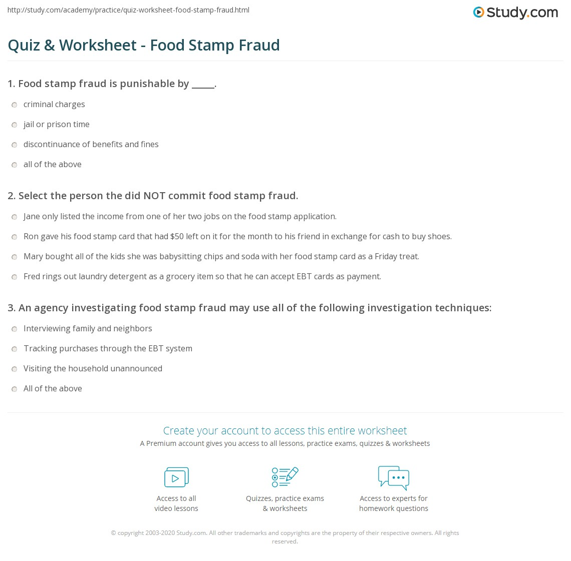 Cbs Welfare Food Stamp Fraud