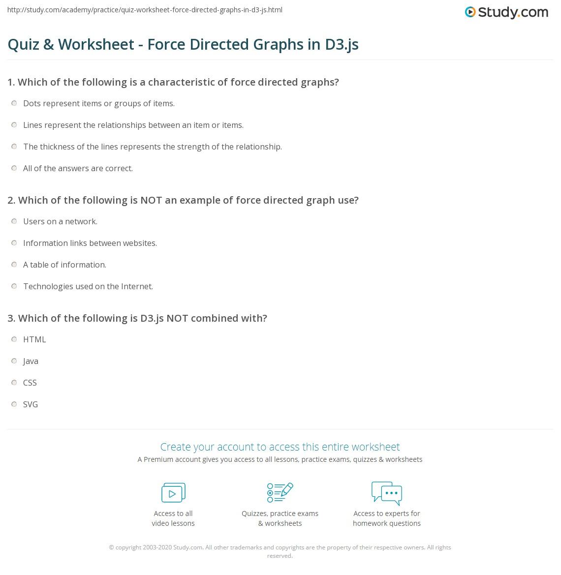D3 Directed Graph