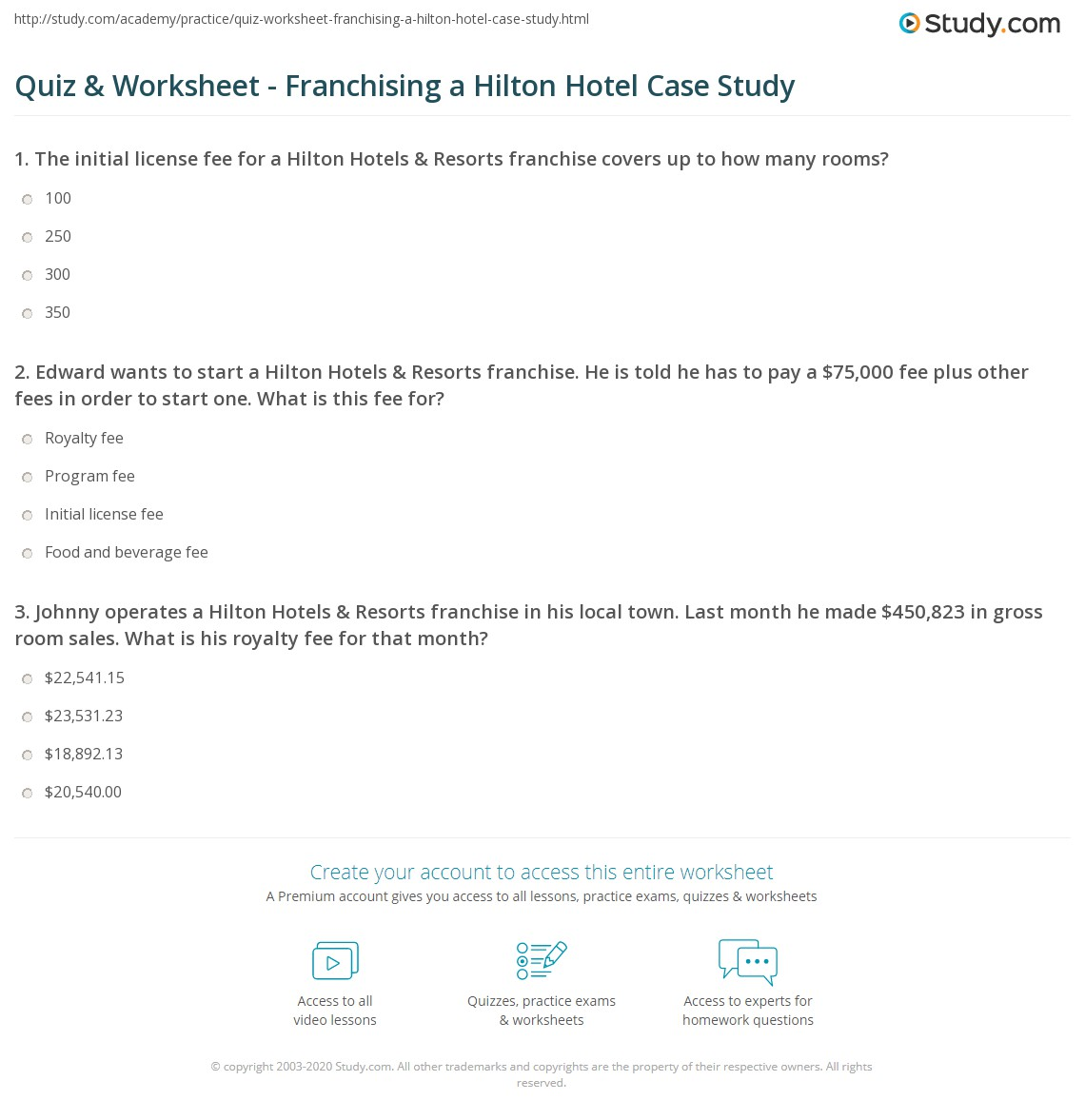franchise case study case study a day in the life question: 1 how effectively do you think rachel spent her day 2 what does the case tell you ask what it is like to be a project.