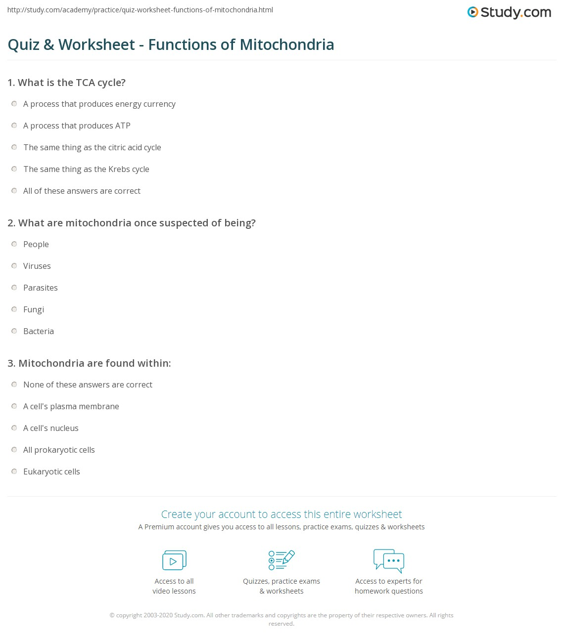 Worksheets Atp Worksheet quiz worksheet functions of mitochondria study com print what is definition worksheet