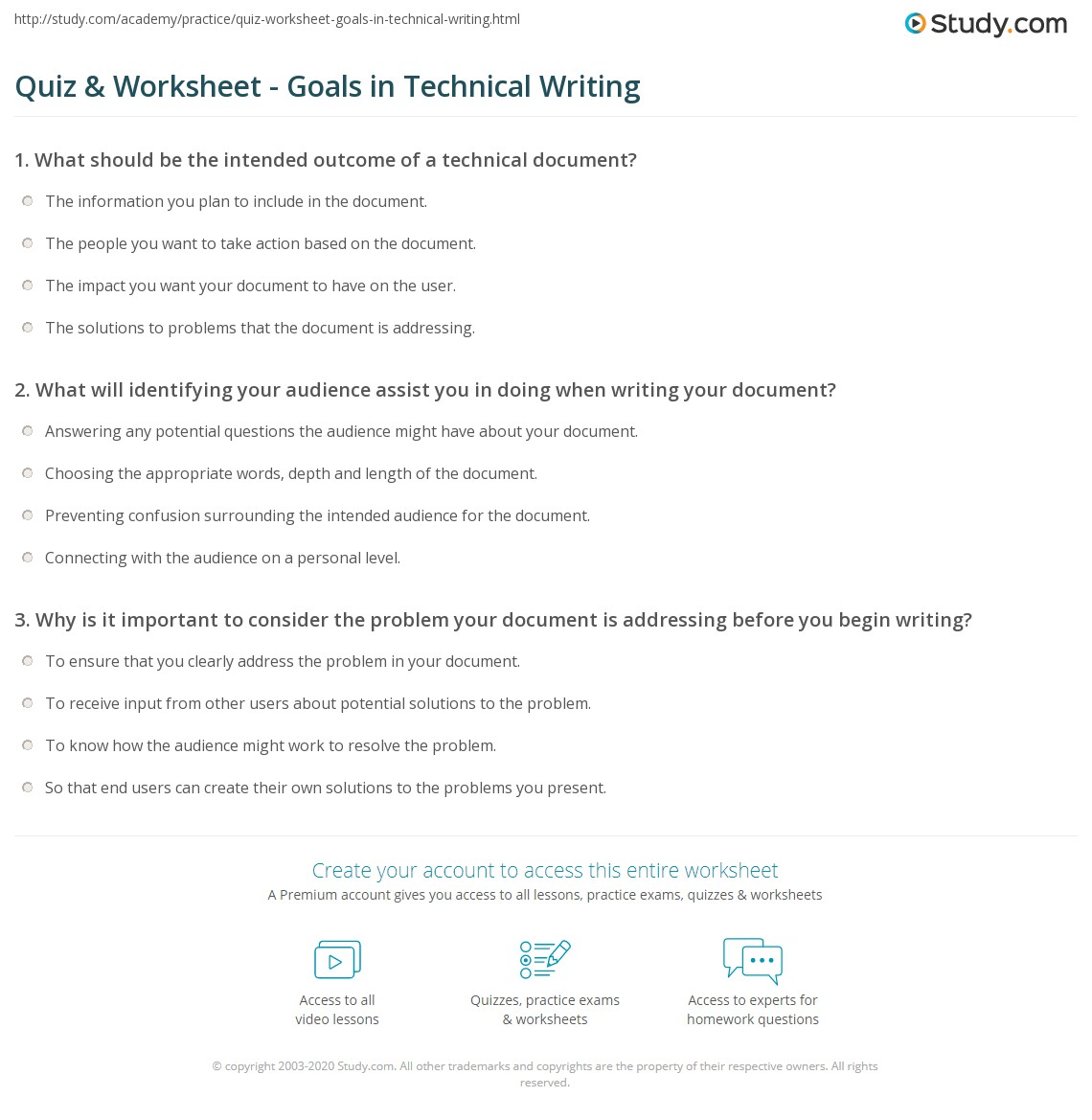 characteristics of technical writing pdf