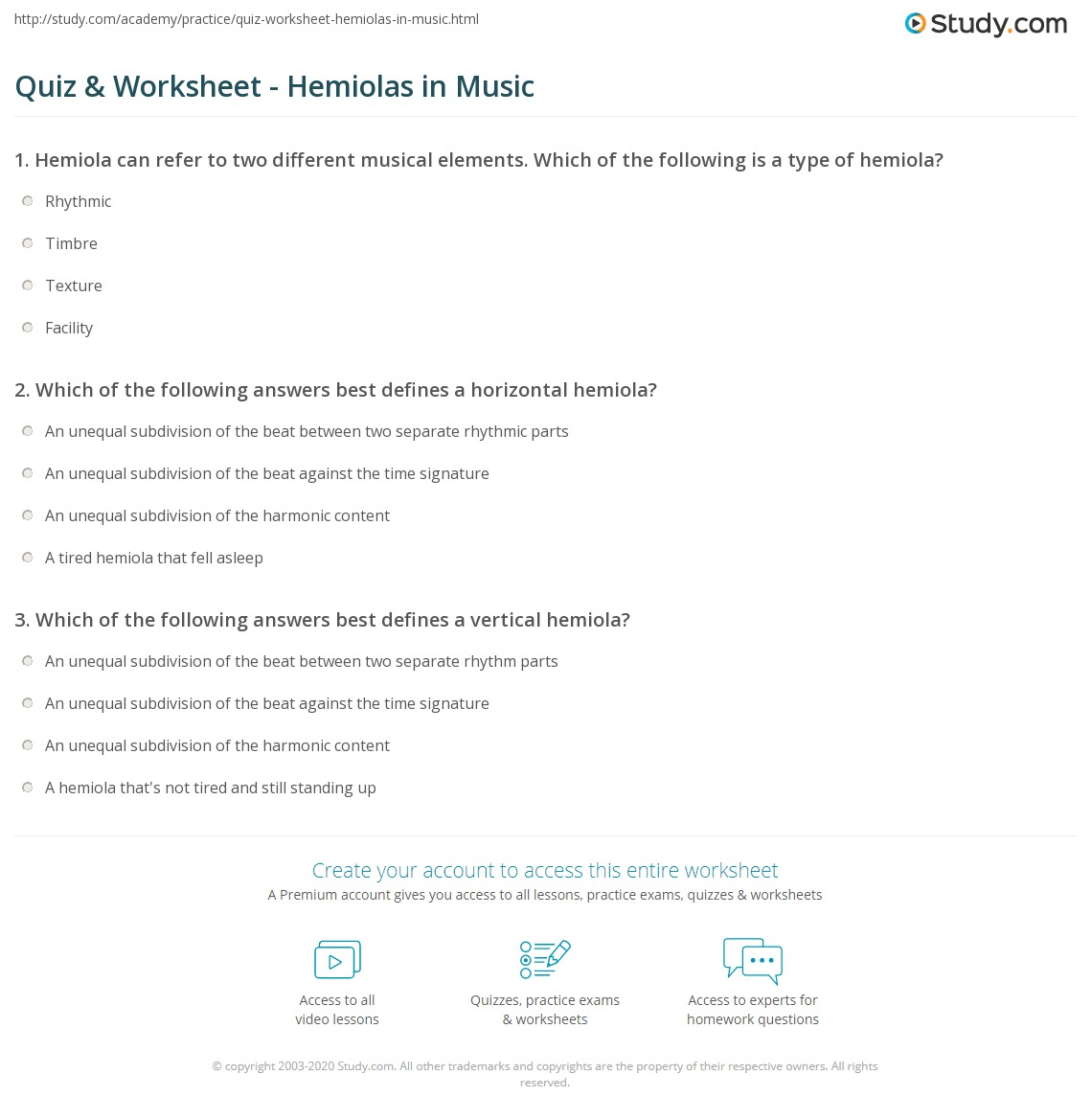 worksheet Elements Of Music Worksheet quiz worksheet hemiolas in music study com print hemiola definition rhythm examples worksheet