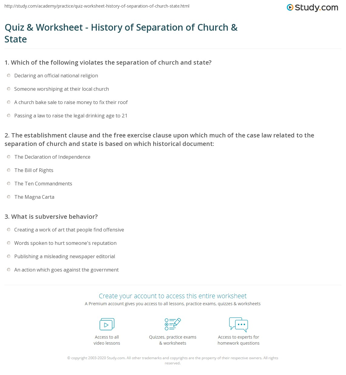 church history quiz 1 The seventh-day adventist church was founded in 1863 and today has a worldwide membership of over fourteen million people this quiz is just a brief overview of the church, its history, and structure.