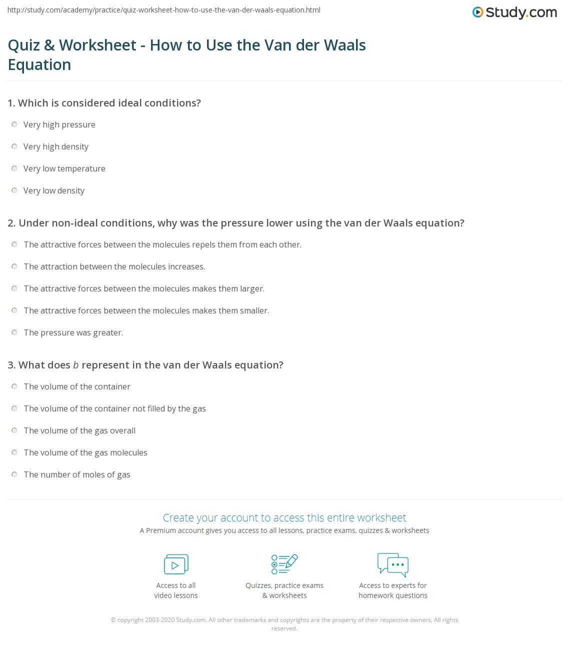how to find b in van der waals equation