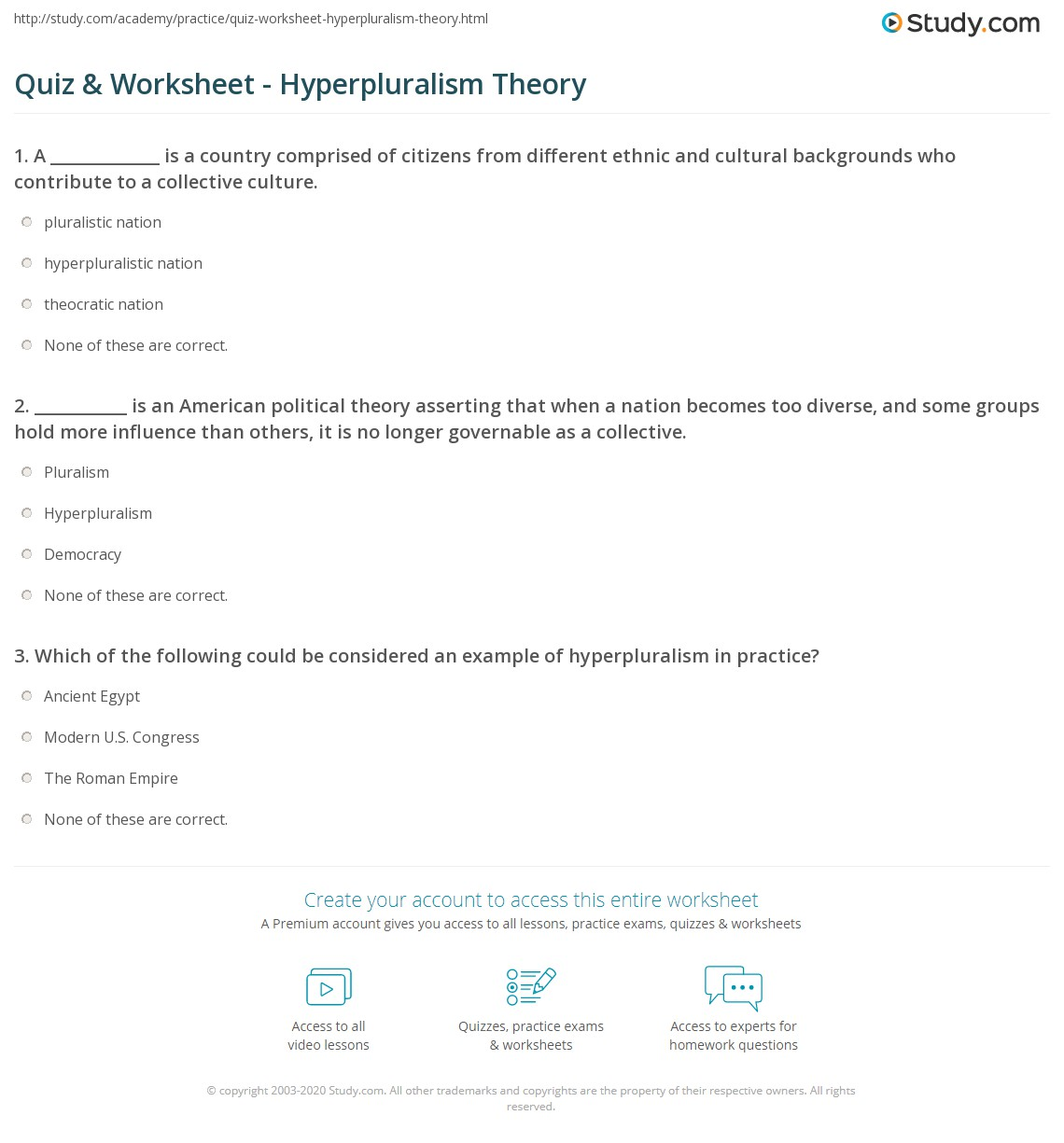 what is the hyperpluralist theory