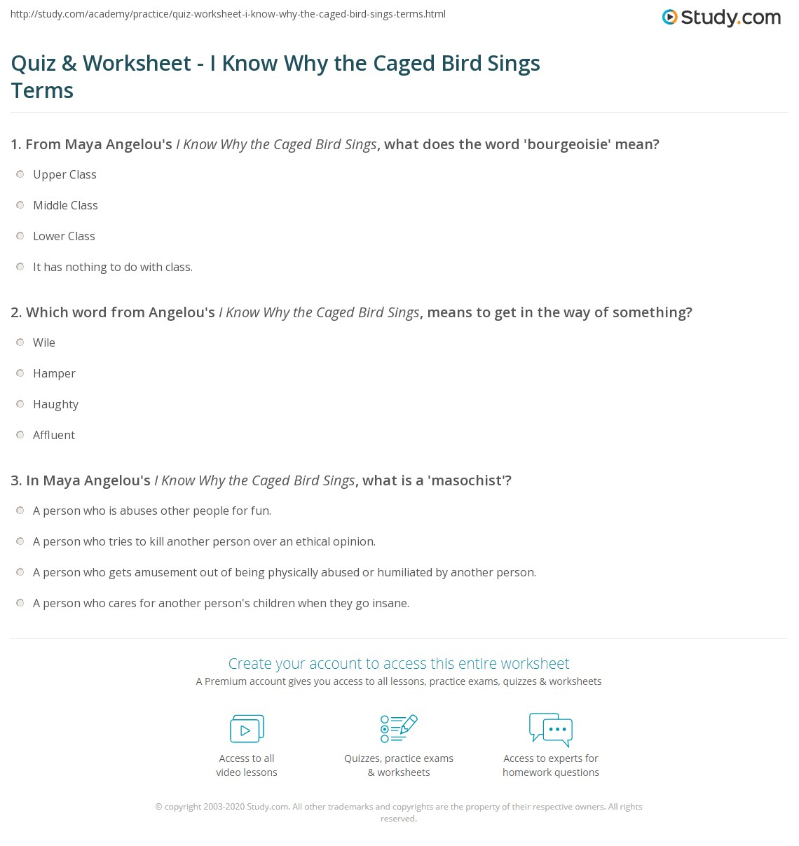 Uncategorized Words Their Way Worksheets quiz worksheet i know why the caged bird sings terms study com print vocabulary words worksheet
