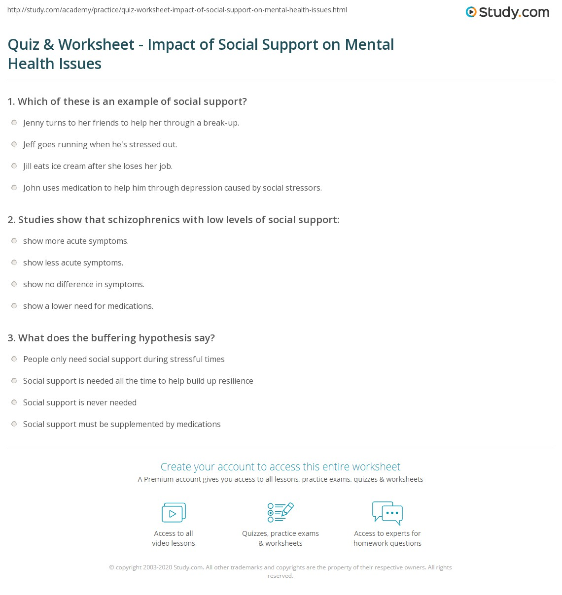Free Worksheet Indiana Child Support Worksheet support worksheet delibertad quiz impact of social on mental health