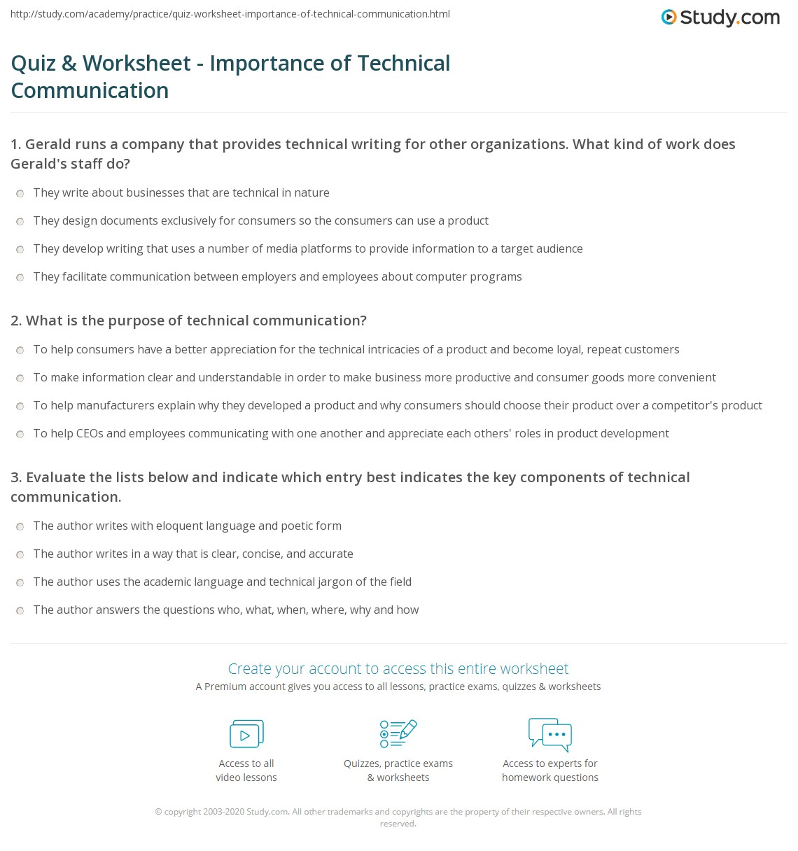 What is the importance of technical writing?
