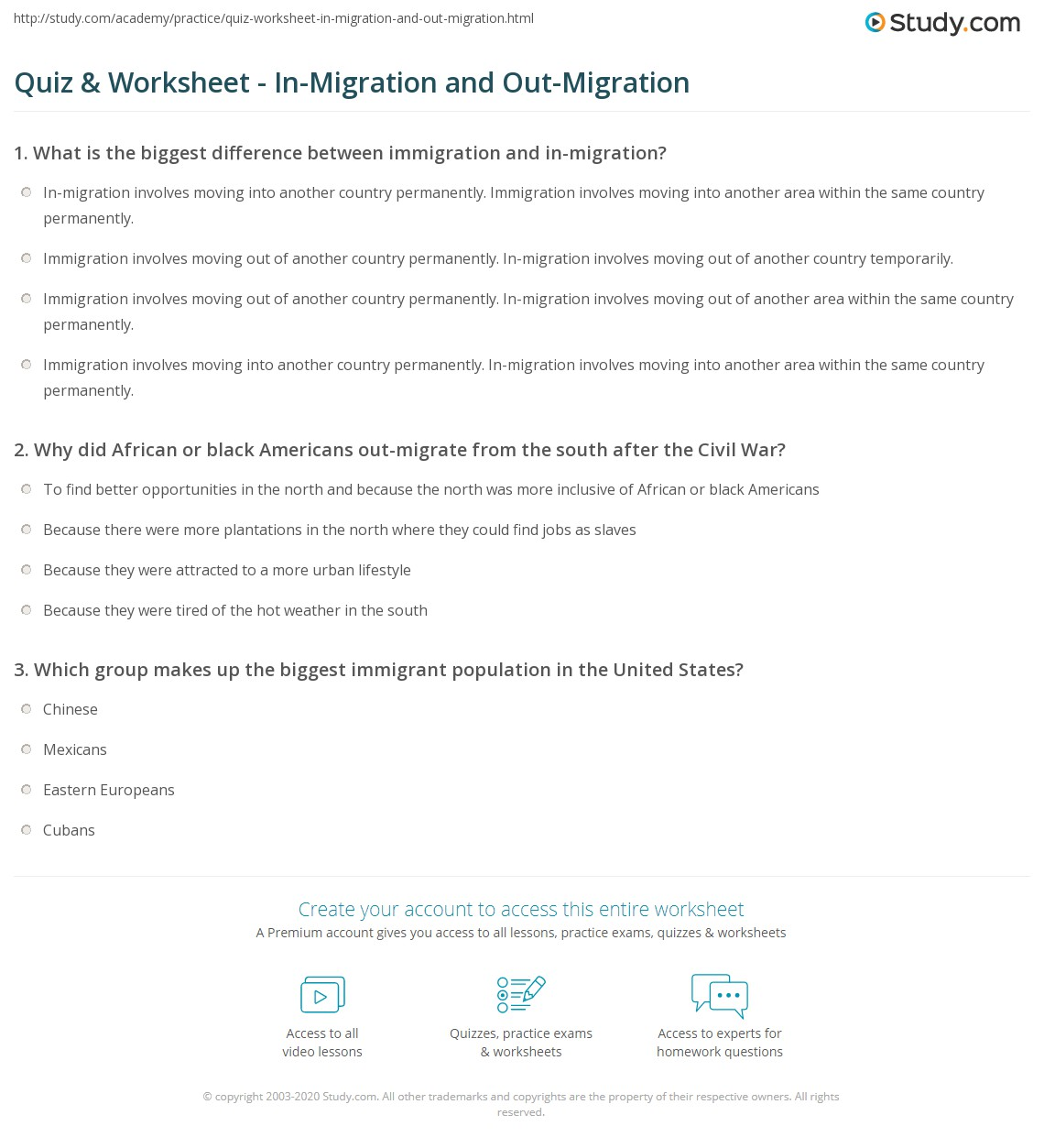 migration worksheets the best and most comprehensive worksheets. Black Bedroom Furniture Sets. Home Design Ideas