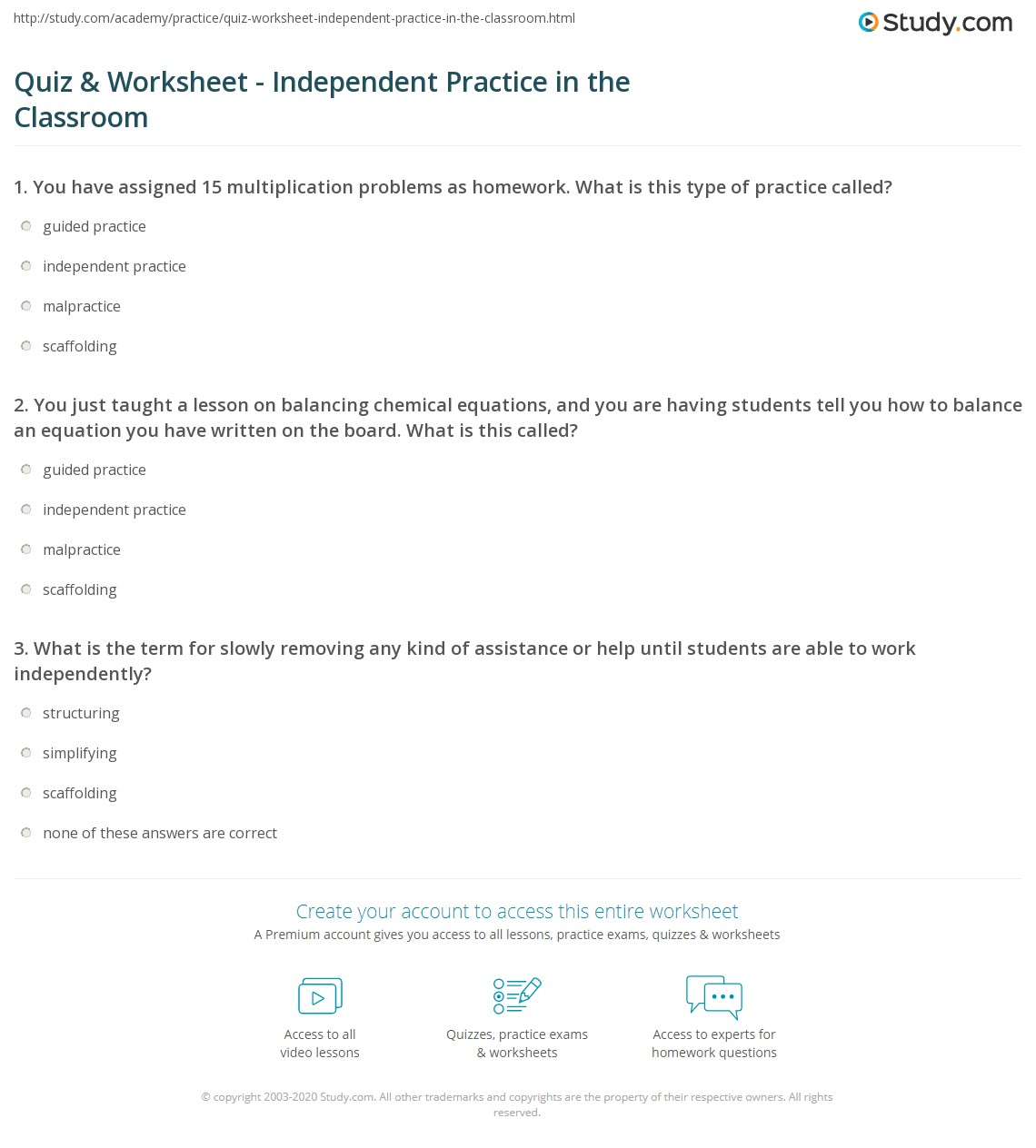 Practice Math Worksheet Davezan – Independent Practice Math Worksheet