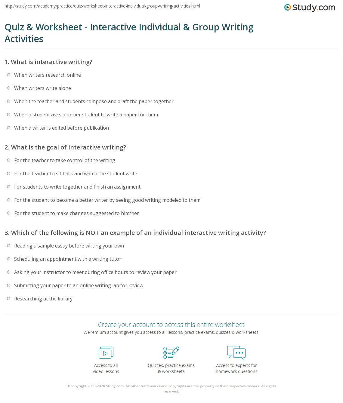 What to write in contact: activity