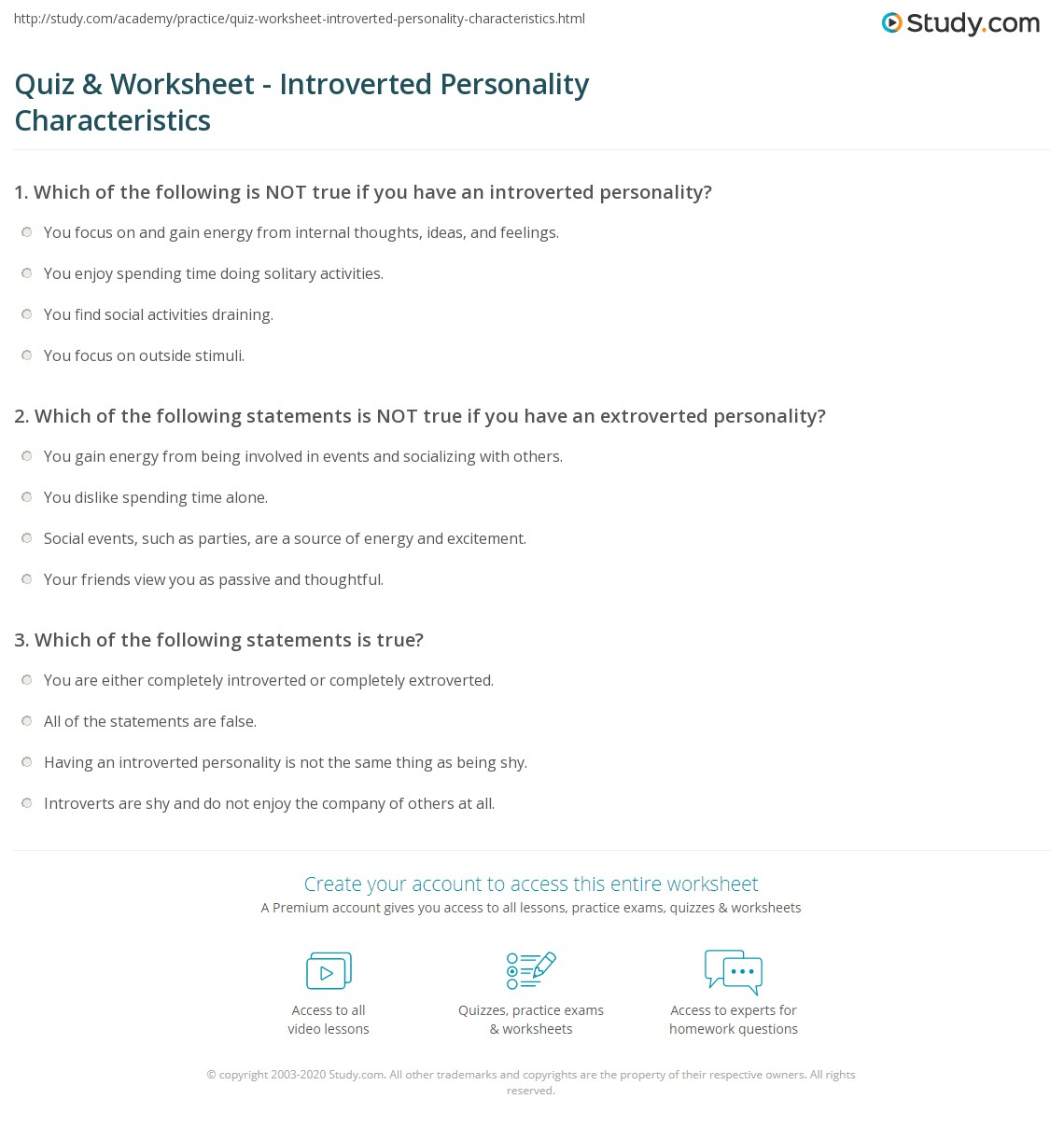 dating tips for introverts students worksheets: