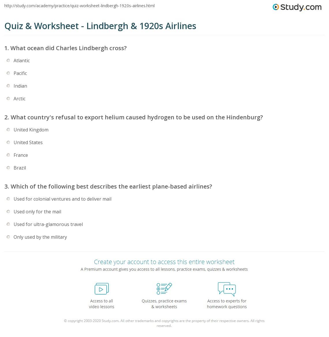 hindenburg comprehension question