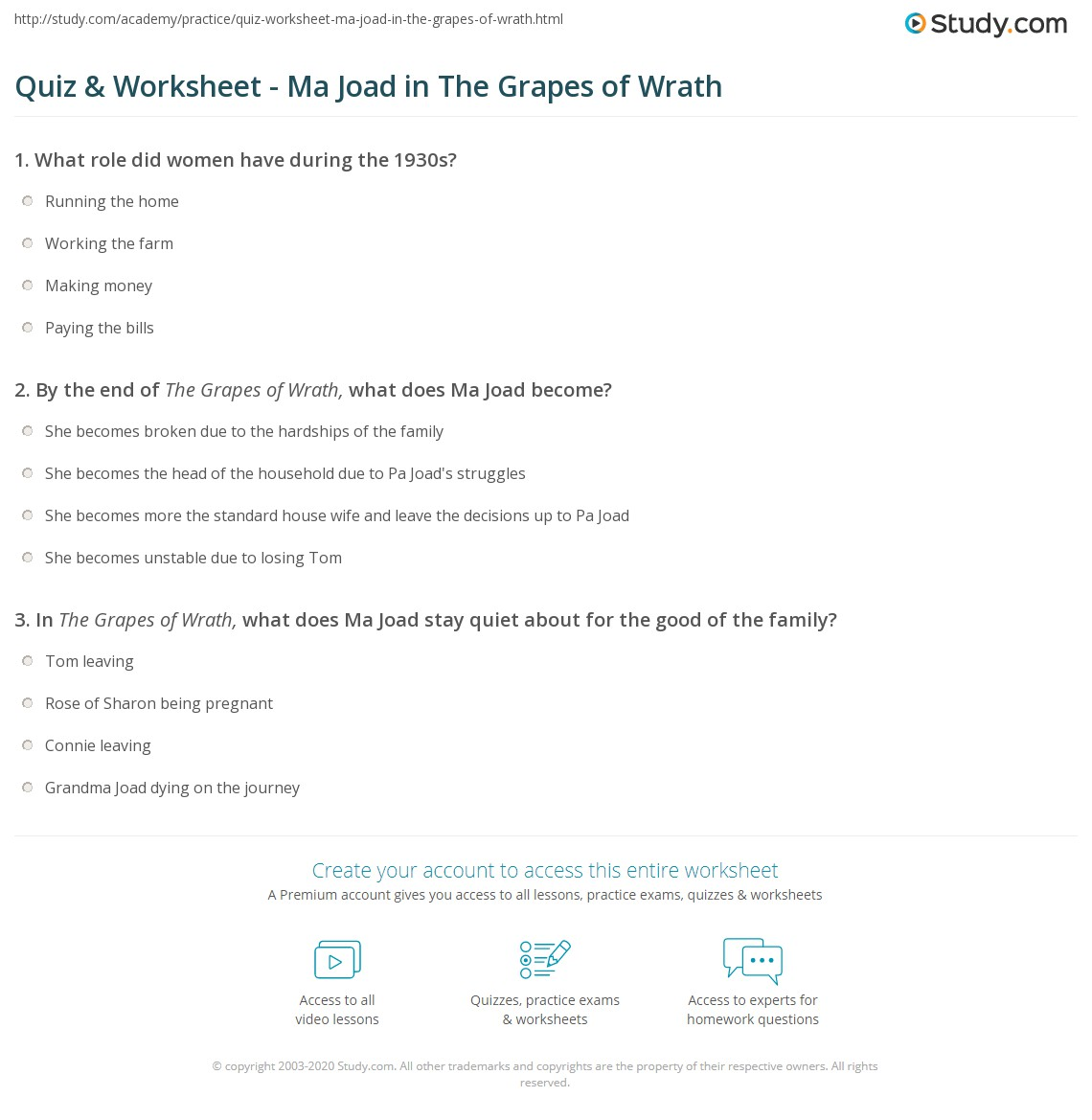 grapes of wrath analysis essay