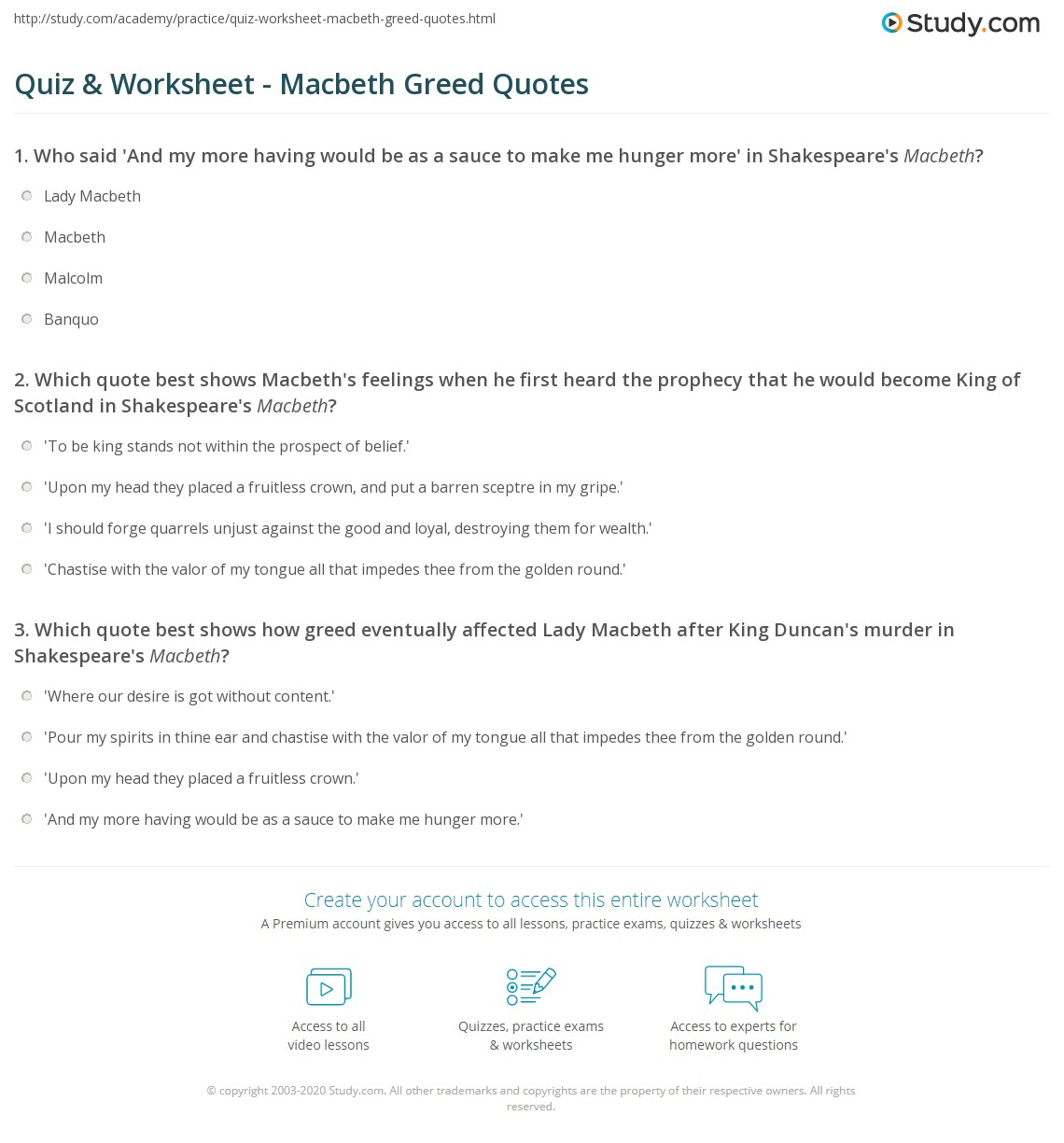 macbeth quotes and meanings
