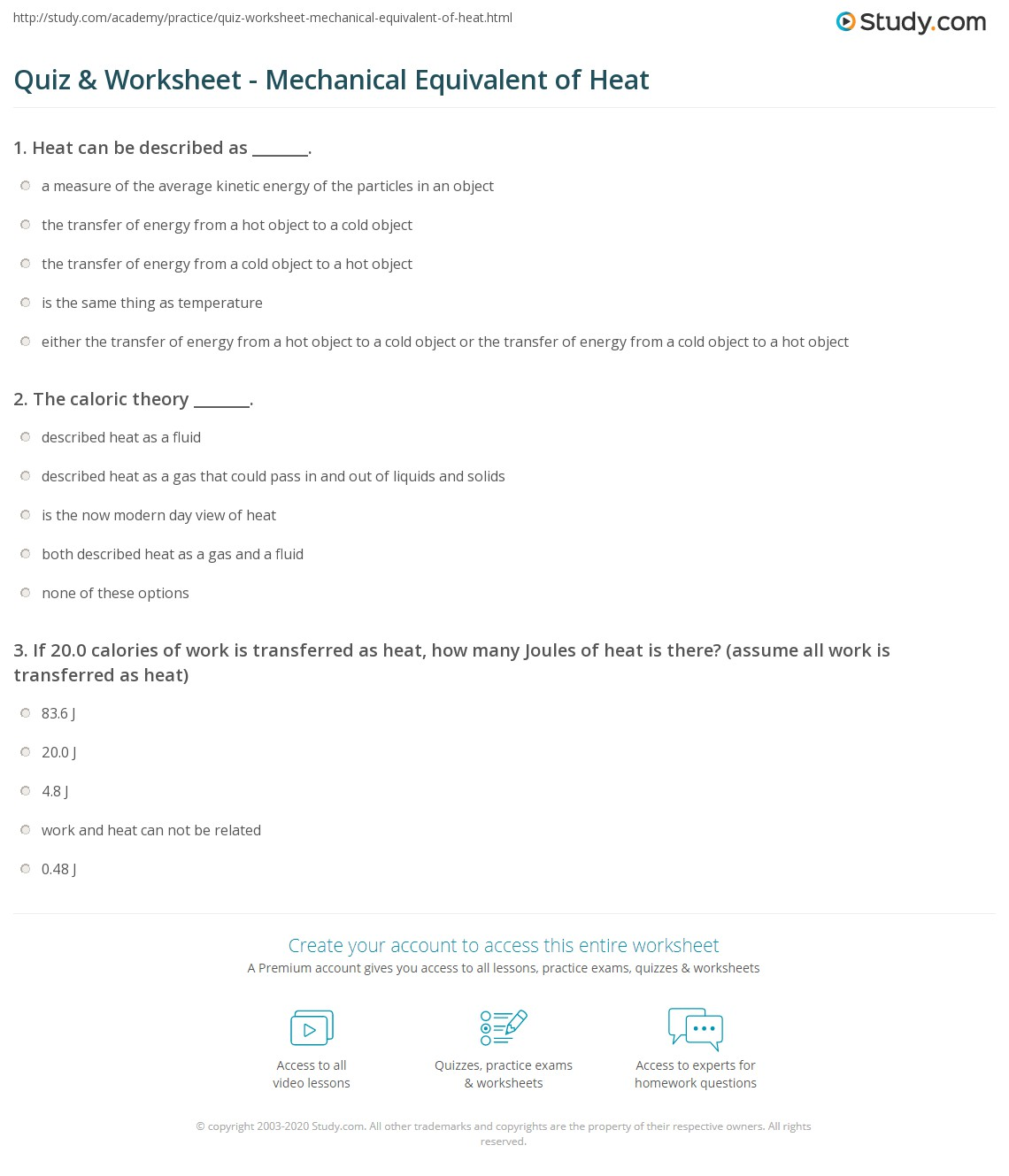 Temperature And Its Measurement Worksheet Answers - 2017 Worksheet