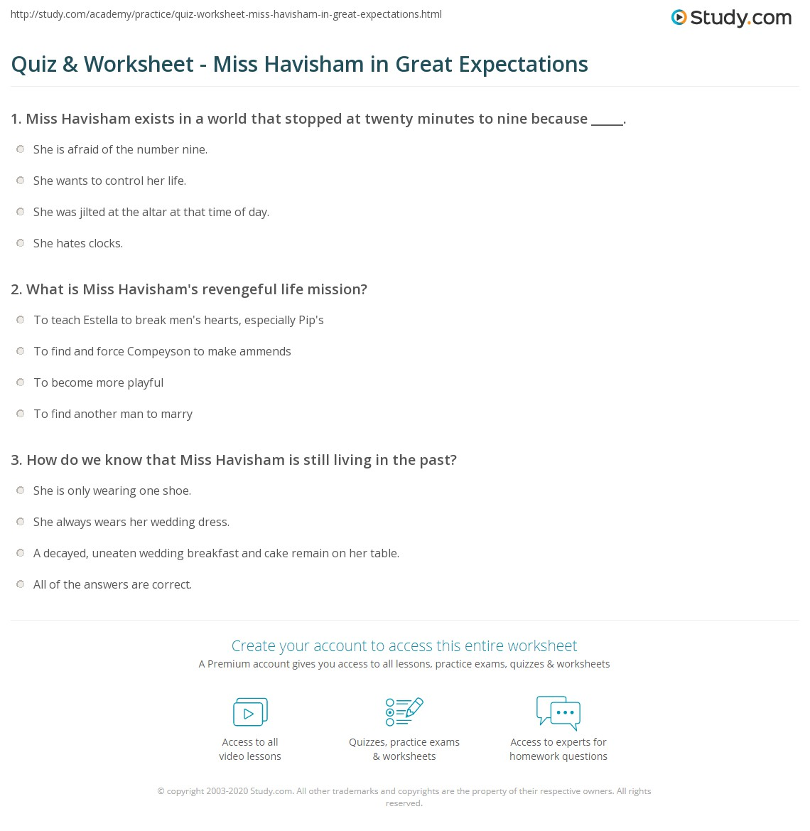 great expectations wedding cake description quiz amp worksheet miss havisham in great expectations 14923