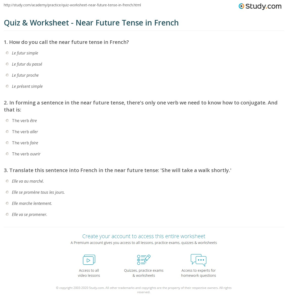 how to use future tense in french