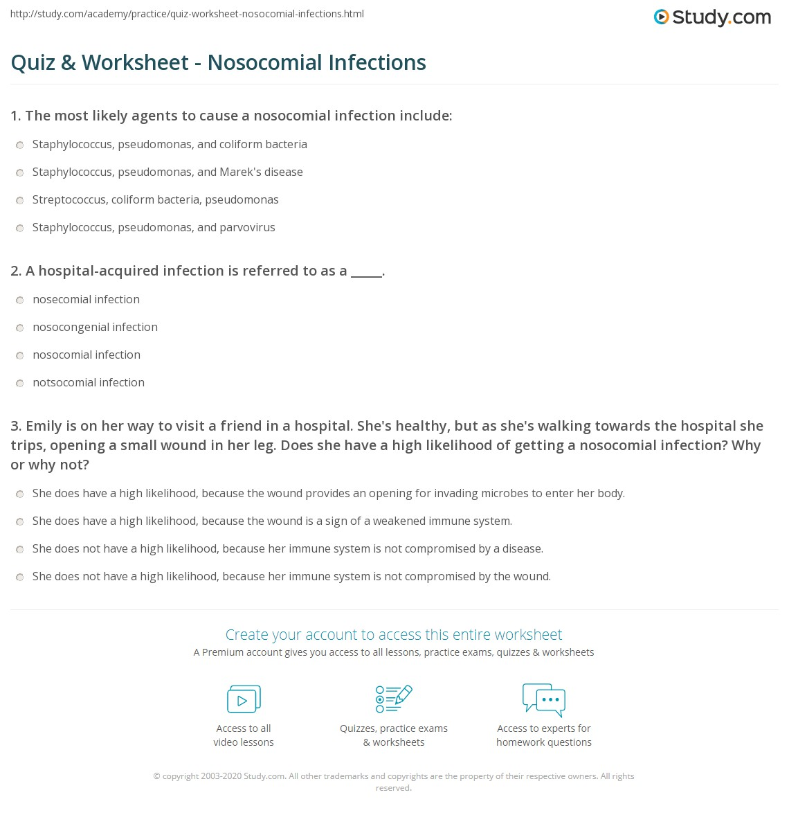 Infection Control Printable Worksheets : Free worksheets library download and print