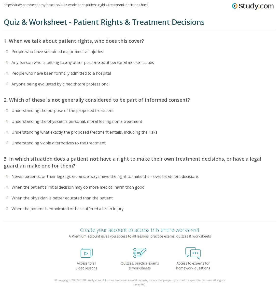 I Have Rights Worksheet - Deployday