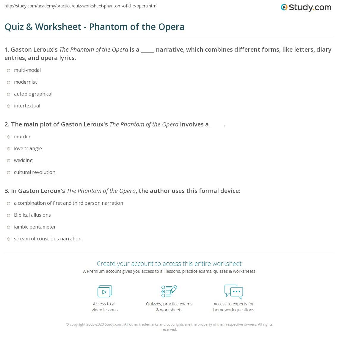 phantom of the opera character analysis